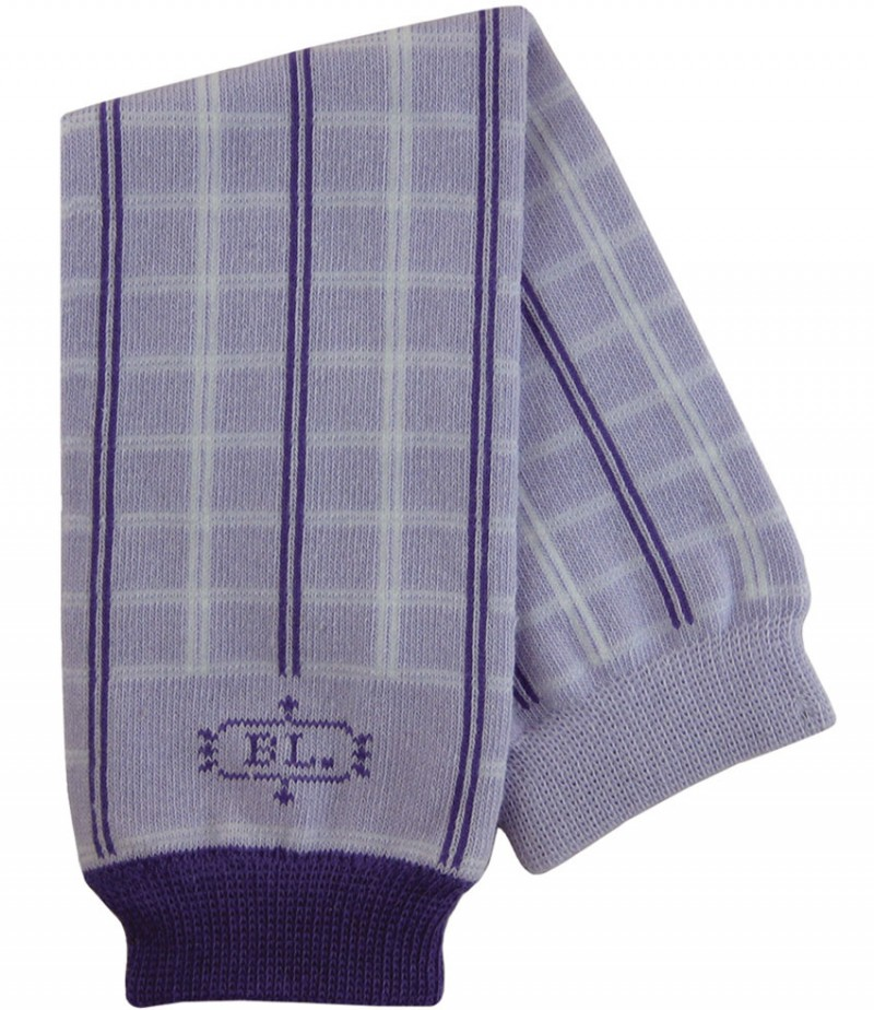 Calentadores BabyLegs Algodón Purple Plaid
