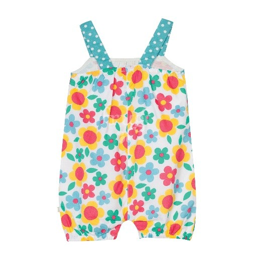 Peto Summer Playsuit Summer Garden
